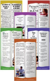 50 Ways to Praise a Child - Parenting Bookmarks