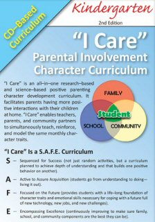 'I Care' Positive Parenting CD-Based Curricula - Kg.
