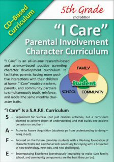 'I Care' Positive Parenting CD-Based Curricula - 5th