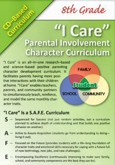 'I Care' Positive Parenting CD-Based Curricula - 8th