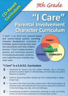 'I Care' Positive Parenting CD-Based Curricula - 9th