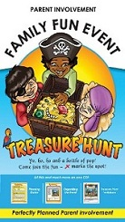 Family Fun Event - Treasure Hunt Thematic Kit