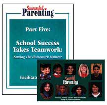 'School Success Takes Teamwork: Taming the Homework Monster' DVD