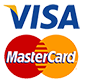 Parenting Resources accepts both Visa & Mastercard